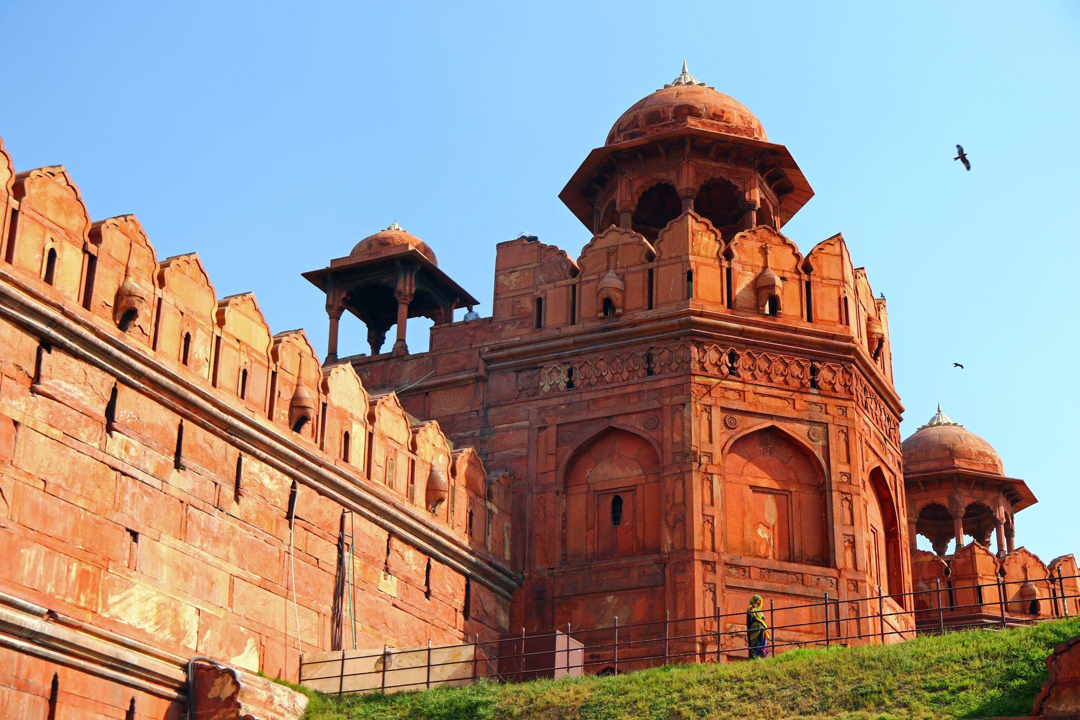 Znalezione obrazy dla zapytania czerwony fort delhi zwiedzanie